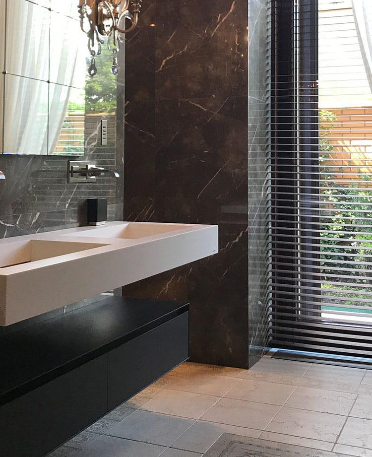 restroom design - Construction & Luxury Homebuilders